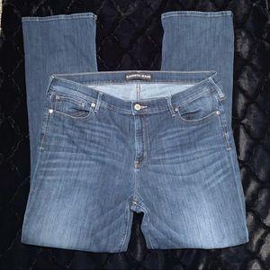Plus size Express bootcut jeans